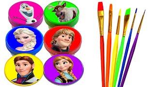 Video Disney Princess Drawing and Painting Rainbow Colors for Kids Frozen Elsa, Anna, Ariel, Rapunzel MP3, 3GP, MP4, WEBM, AVI, FLV Januari 2019