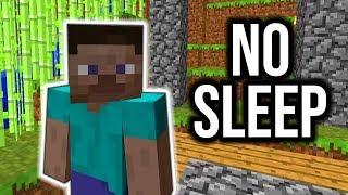 Minecraft while SLEEP DEPRIVED...