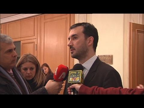 Αισιόδοξοι για πολιτική λύση στο Eurogroup Δ. Παπαδημητρίου και Αλ. Χαρίτσης
