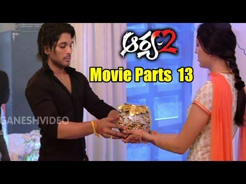 Video Arya 2 Movie Parts 13/14 || Allu Arjun, Kajal Aggarwal, Navdeep || Ganesh Videos download in MP3, 3GP, MP4, WEBM, AVI, FLV January 2017