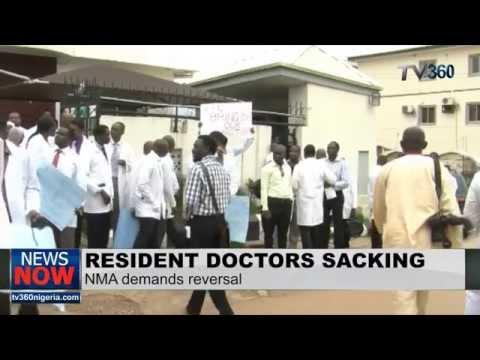 Nigeria Medical Association demands reversal of Resident Doctors sacking