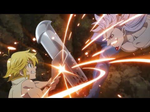 Meliodas vs Bellion   The Seven Deadly Sins Movie [1080p]