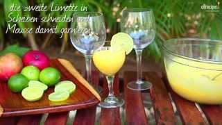 Einfache Mango Mousse
