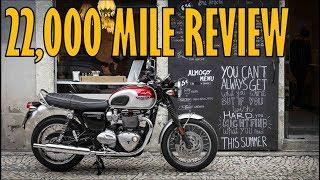 9. 22,000 Mile Review: Honest Triumph Bonneville T120 Review