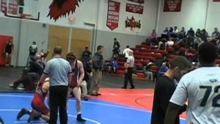 JD Culp W'Burg vs Jesse Reser Fort Osage 152 lbs