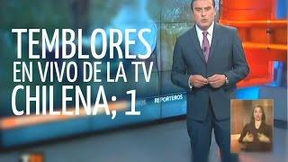 Temblores en vivo de la tv chilena [Parte 1] act 2013