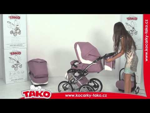Универсальная коляска Tako Ballila Acoustic Caro 2, серый