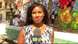 Faces from the Block's Mural at Betances Community Center featured at Channel 12 The Bronx!