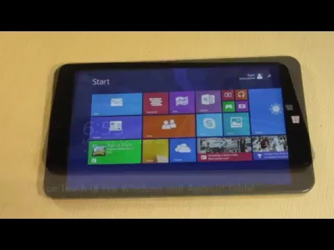 TabletExpress Dragon Touch i8 pro Windows 8.1 & Android 4.4 KitKat Tablet Review