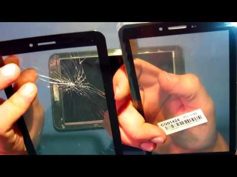 Как починить треснутое сенсорное стекло