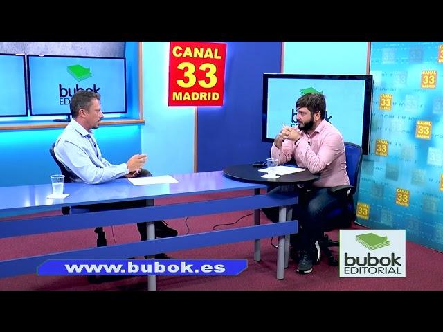 Hablando en Canal 33 de los proyectos en los que estamos involucrados