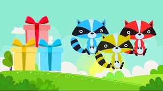 Download Lagu Lear colors with animals Fox - Colors for kids - Colours animals for children Mp3