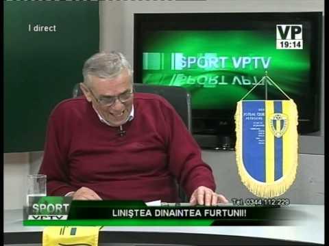 Emisiunea Sport VPTV – Emanoil Savin,  Mircea Baganagiu și Adrian Moroianu – 15 decembrie 2014