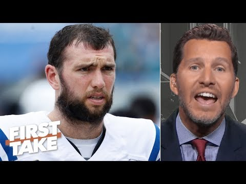 Video: Andrew Luck is overrated and isn't what the Colts expected - Will Cain | First Take