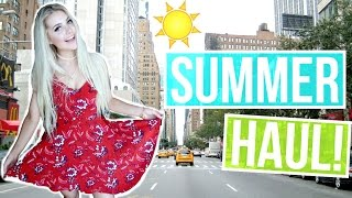 ANOTHER HAUL & SUMMER OUTFIT IDEAS! by Aspyn + Parker