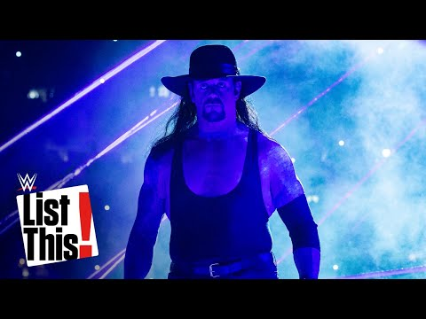 20 facts you may not know about The Undertaker: WWE List This!
