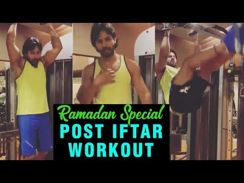 Varun Dhawan Keeps Roza, Shows Special Workout Aft
