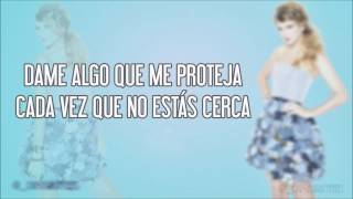Taylor Swift - Sparks fly (traducida en español)