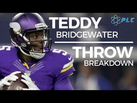 How Good of an NFL Quarterback is Teddy Bridgewater?