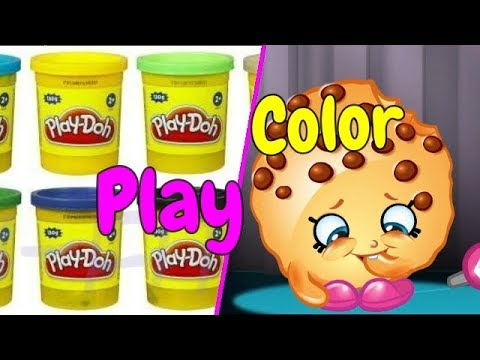 Surprise Unboxing Shopkins???? Play with Play doh Video for kids