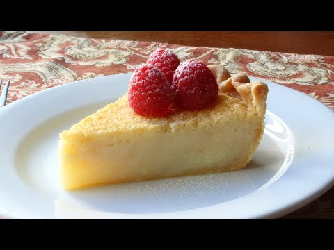 Buttermilk Pie - Southern-Style Buttermilk Pie Recipe
