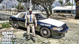GTA 5 MODS LSPDFR 0.4 - TEXAS PATROL!!! (GTA 5 REAL LIFE PC MOD)
