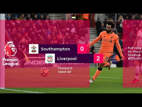 Southampton vs Liverpool 2-0 - All Goals and Highlights 11/02/18