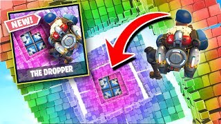 *NEW* Fortnite DROPPER Custom Gamemode in Fortnite Battle Royale