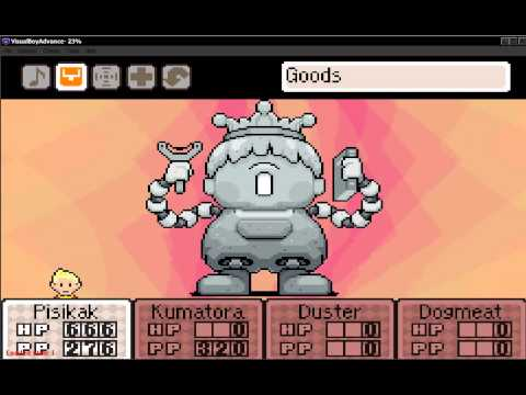 MOTHER 3 - Porky Statue Witout Flash Or Bomb [DESTROYED]