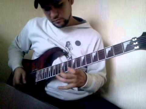 Edguy all the clowns guitar cover terro (видео)