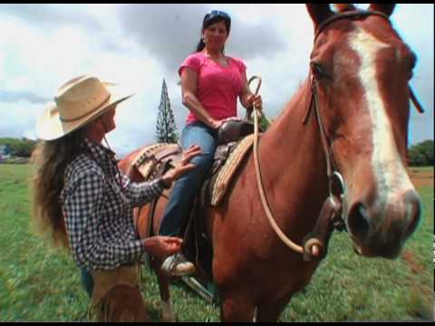 Waterfall Picnic Ride Horseback Riding on Kauai at Princeville Ranch Adventures