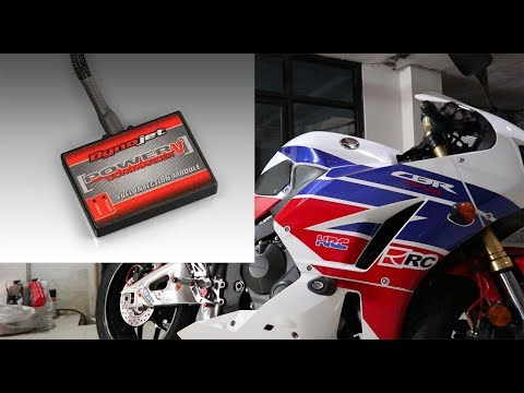 CBR 600RR Pasang POWER COMMANDER V !!! Tutorial masang sendiri!!
