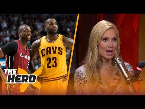 Dwyane Wade doesn't deny joining LeBron James in Cleveland for 2017-18 NBA season | THE HERD