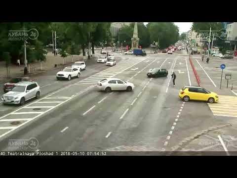 ДТП в  Краснодаре на улице Красная