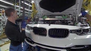 Fabricación del BMW 3 Series en 2013