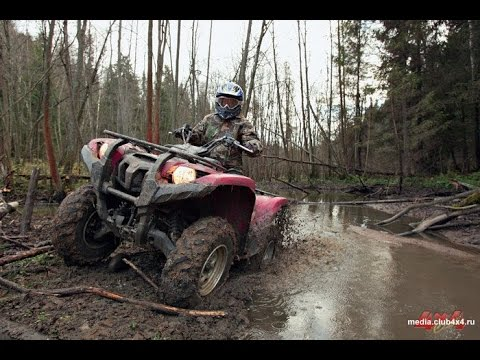 Yamaha Grizzly  Все покрашено