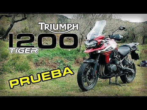 Triumph TIGER 1200 XRT 2018  Prueba