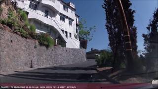 Hollywood Hills dashcam video. The Hollywood Hills are the part