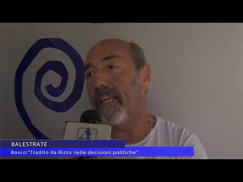 Intervista Antonio Bosco assessore dimissionario di Balestrate