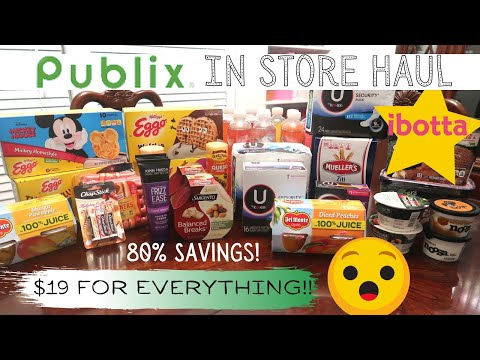 Publix In Store Haul | 80% Savings! | Money Makers and Clearance Finds!