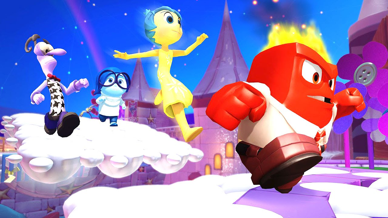 DISNEY INFINITY 3.0 – Inside Out Trailer #VideoJuegos #Consolas