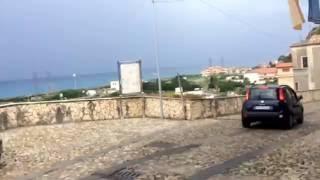 Amantea Italy  city images : Dangerous Drive in Amantea Italy.