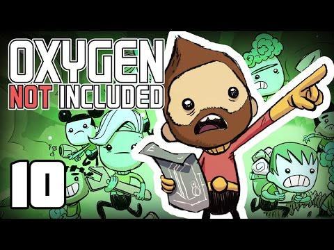 Edge of the Map!? - Oxygen Not Included Ep.10 (видео)
