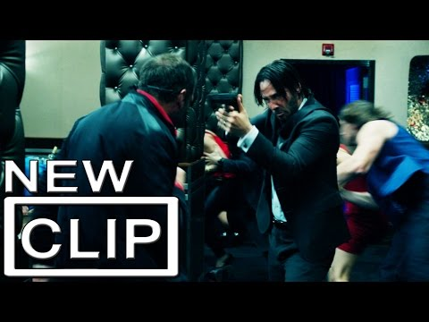 "John Wick ""Bar Fight"" Clip Official - Keanu Reeves"