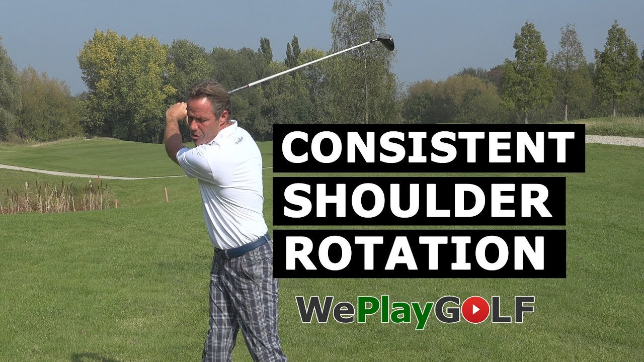 Consistent SHOULDER ROTATION in your Golf swing