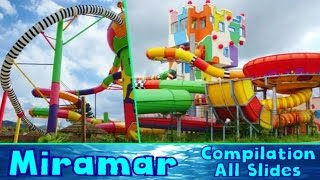 Weinheim Germany  city pictures gallery : ALL CRAZY WATER SLIDES at Miramar 2016! [Compilation]