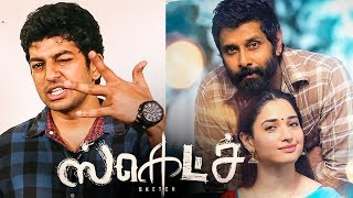 Video Sketch Review | Vikram | Tamannah | Vijay Chandar MP3, 3GP, MP4, WEBM, AVI, FLV Januari 2018