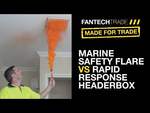 Rapid Response Header Box Fan Vs Marine Flare