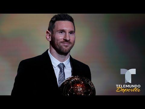 Lionel Messi conquista su sexto Balón de Oro como el mejor del mundo | Telemundo Deportes