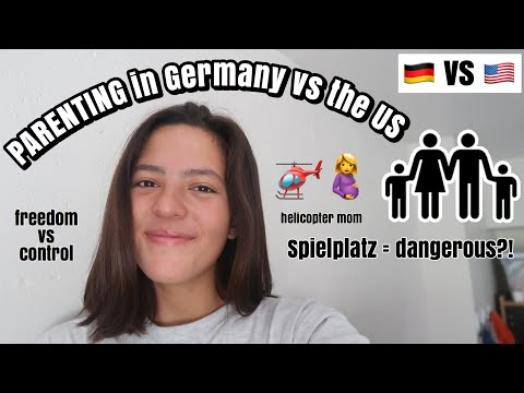 Parenting in Germany vs the United States